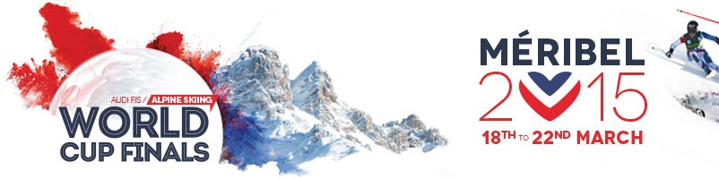 At the heart of alpine skiing world cup finals - Méribel Worldcup Finales 2014-2015.clipular
