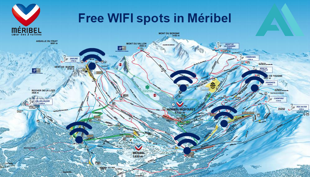 Meribel Free Wifi Spots Alpine Action Blog