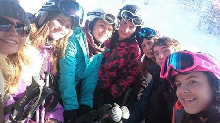 La Tania Staff Ski Day