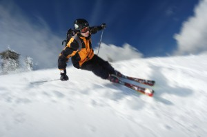 2586347 The Skier