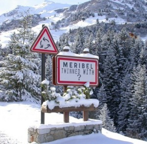 meribel twinned with