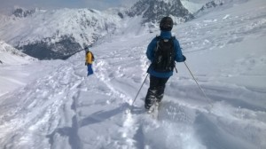 alpine action staff off piste meribel