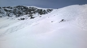 fresh ski tracks meribel off piste