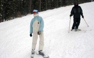snowblading meribe