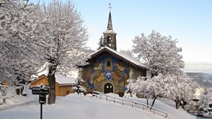 Meribel Chapel: credit to Merinet.com
