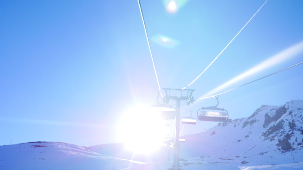 Meribel ski lift