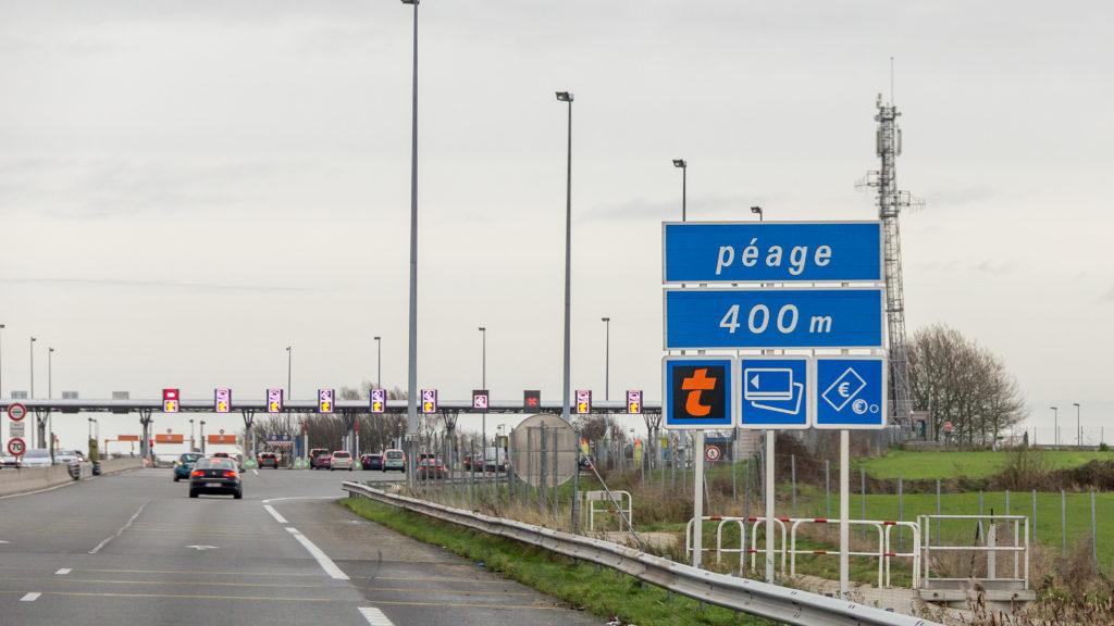 toll road alps