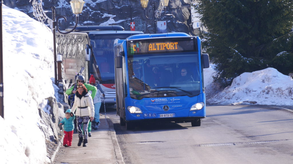 Meribel bus navette