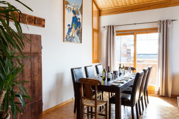 Fully catered chalet Meribel