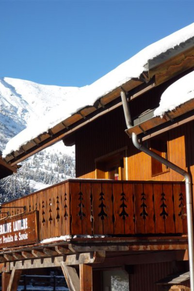 The balcony of Chalet Ecureuil