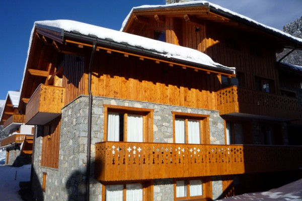 Exterior shot of Chalet Telekie