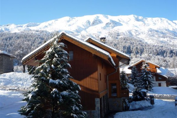 The outside of Chalet Ecureuil