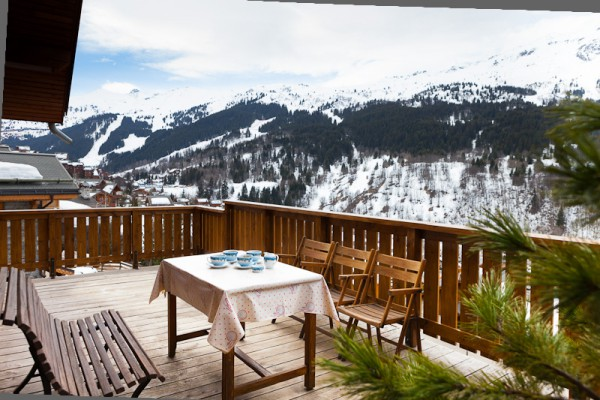 View from Chalet Bouchot