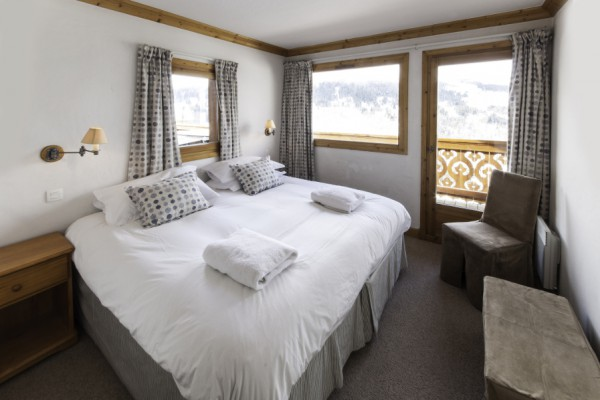 Amazing views from double room Chalet Virage