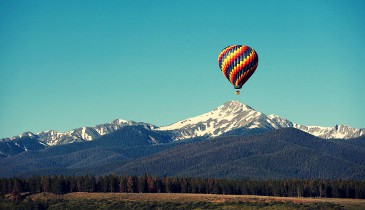Hot Air ballooning|non skiers meribel