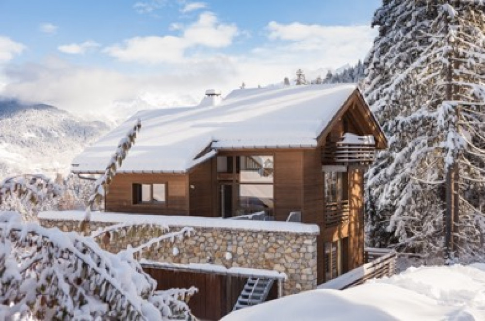 Exteriror image of a chalet in La Tania