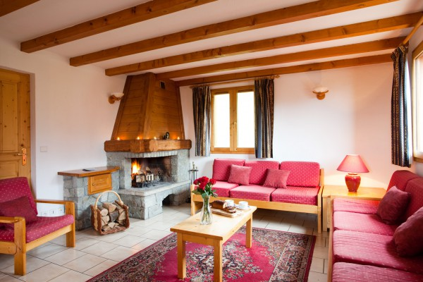 Lounge of Chalet Alysson in Meribel