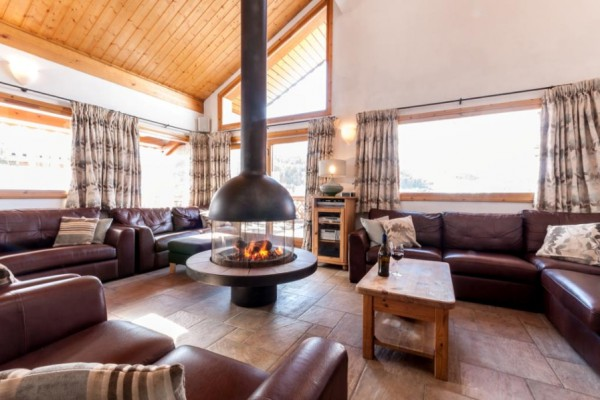 Lounge of Chalet Virage