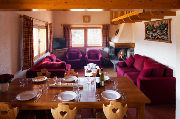 Fully catered chalet Meribel Village