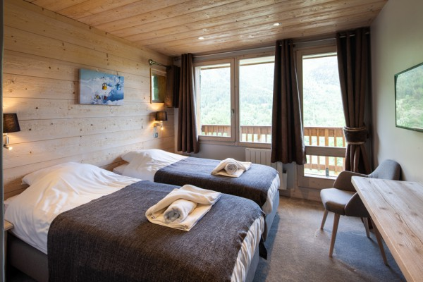 Room 2 in Chalet Chardon in Meribel