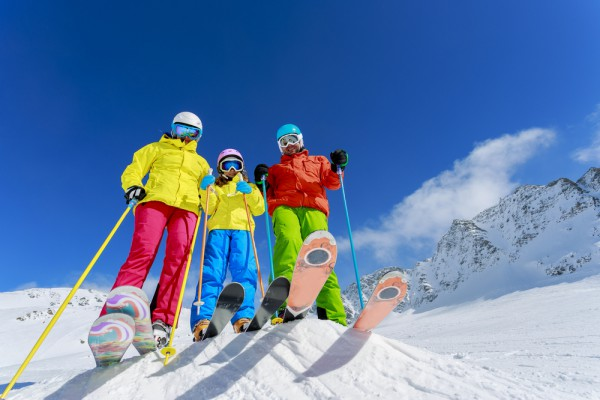 Perfect family skiing in Meribel