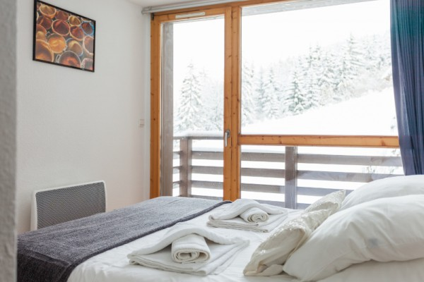Double En-Suite with piste view