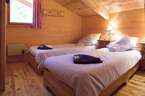 Twin Room at Chalet Cote Coeur