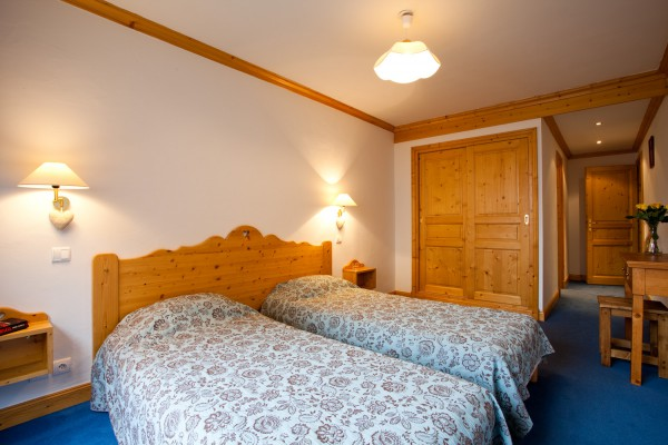 Large Twin Room Meribel